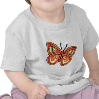 butterly-graphic t shirts