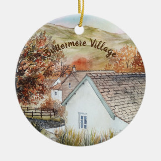 Buttermere Village, Lake District, England Christmas Ornament