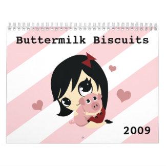 Buttermilk Biscuits Calendar 2009