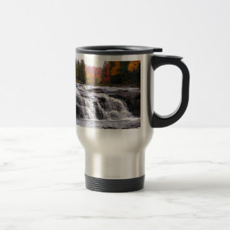 buttermilk falls adirondacks travel mug