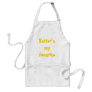 Butter's my favorite food group. standard apron