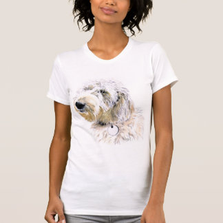 Butters the Labradoodle Womens Shirt