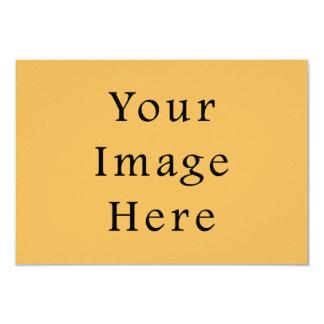 Butterscotch Caramel Yellow Color Trend Template 9 Cm X 13 Cm Invitation Card