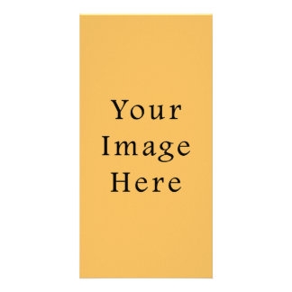 Butterscotch Caramel Yellow Color Trend Template Photo Cards