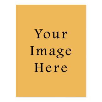 Butterscotch Caramel Yellow Color Trend Template Postcard