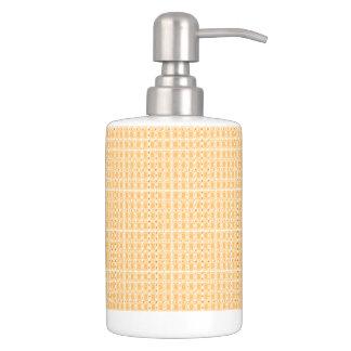 Butterscotch-Royalty-Plaid's-Series-Bath-Decor Bathroom Set