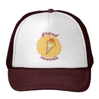 Butterscotch Sherbet Triple Scoop- Grand Sweetie Trucker Hats