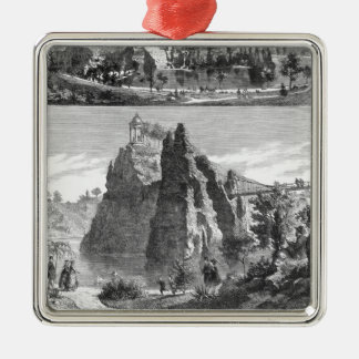 Buttes-Chaumont park, New Paris Christmas Ornament