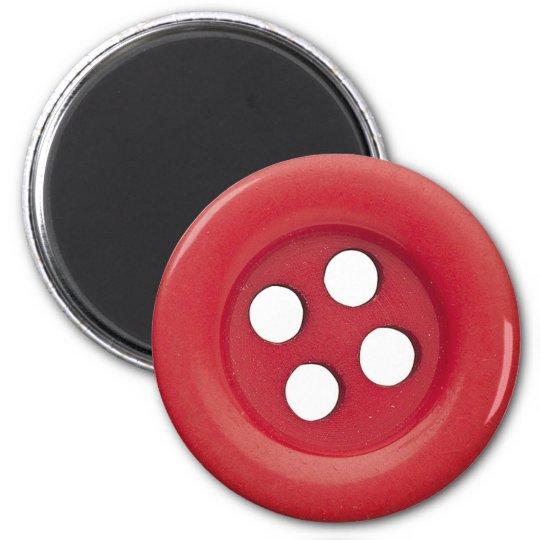 button 6 cm round magnet