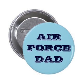 Button Air Force Dad