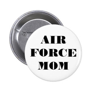 Button Air Force Mom