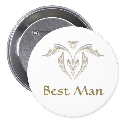 Button Badge - Best Man