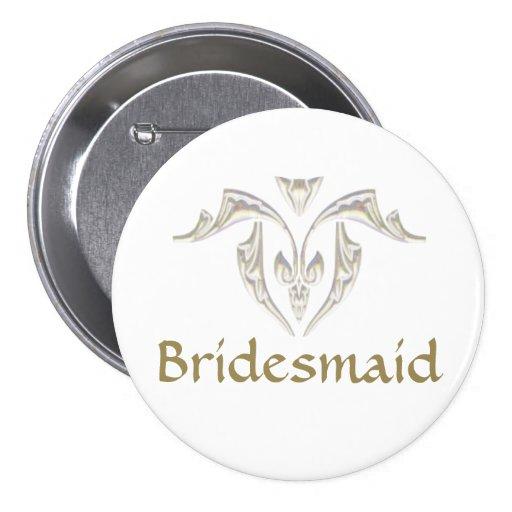 Button Badge - Bridesmaid