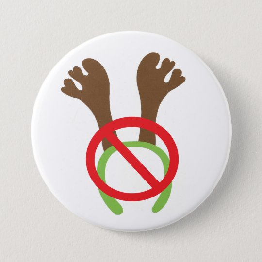 button / badge - funny Christmas theme