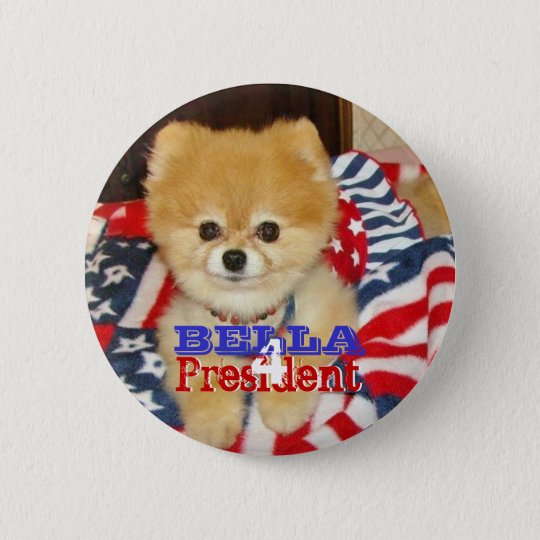 Button - Bella for President