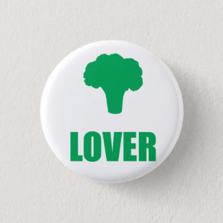"Button ""Broccoli Lover """