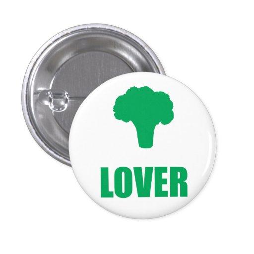 "Button ""Broccoli Lover """