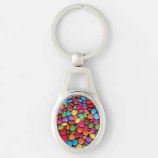 Button Candy Key Ring