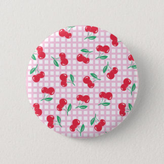 Button Cherry pink one