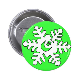 Button-Christmas Snowflake