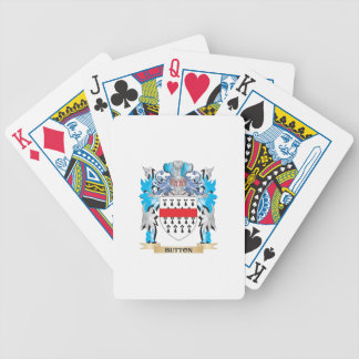 Button Coat of Arms Bicycle Poker Cards