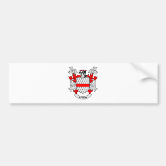 BUTTON Coat of Arms Bumper Sticker