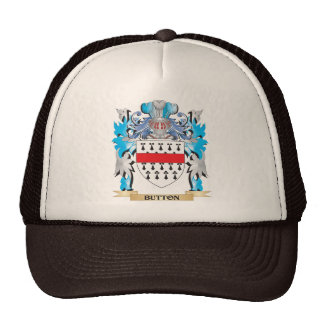 Button Coat of Arms Trucker Hat