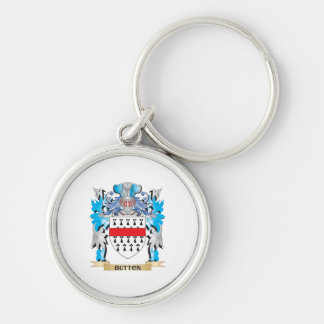 Button Coat of Arms Keychains