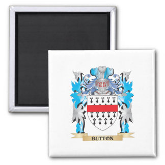 Button Coat of Arms Fridge Magnets