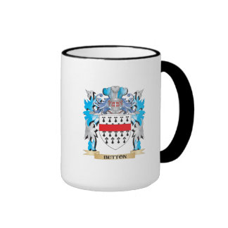 Button Coat of Arms Coffee Mugs