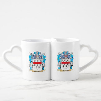 Button Coat of Arms Lovers Mug