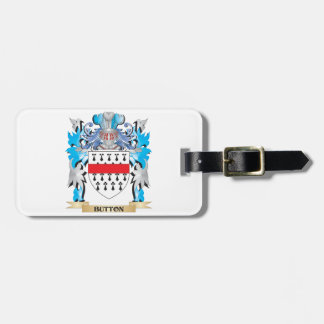 Button Coat of Arms Travel Bag Tags