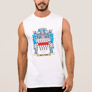 Button Coat of Arms Sleeveless T-shirt