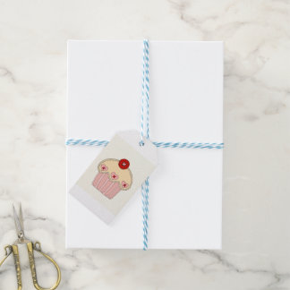 Button Cupcake Gift Tag