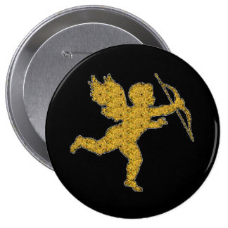 Button Cupid Gold