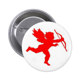 Button Cupid Red Plain