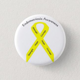 Button--Endo Awareness 3 Cm Round Badge