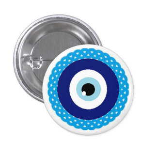 Button-evil-eye 3 Cm Round Badge