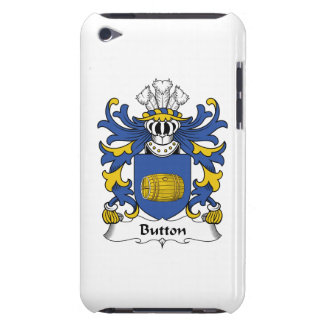 Button Family Crest Barely There iPod Cover