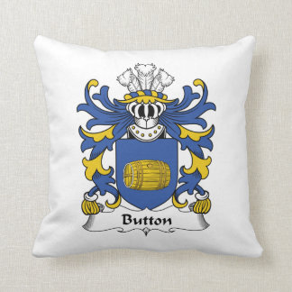 Button Family Crest Pillow