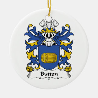 Button Family Crest Ornaments