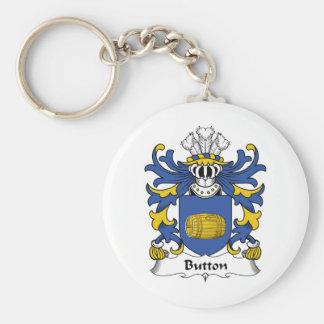 Button Family Crest Keychain
