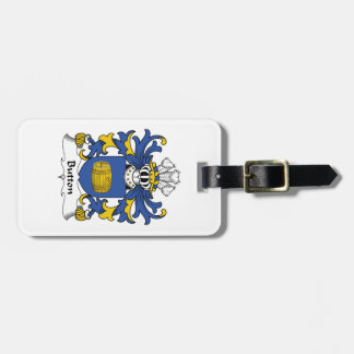 Button Family Crest Tags For Luggage
