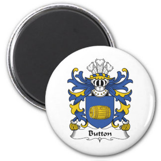 Button Family Crest Refrigerator Magnets