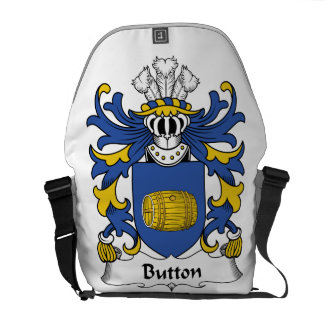 Button Family Crest Courier Bags