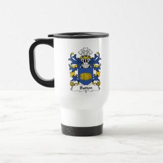 Button Family Crest Mug