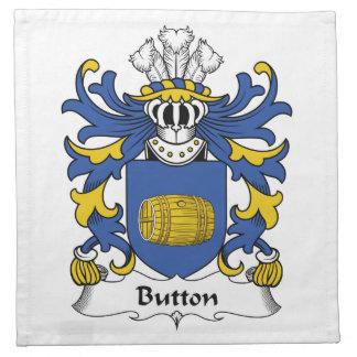 Button Family Crest Cloth Napkin
