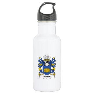 Button Family Crest 18oz Water Bottle
