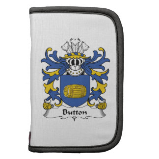 Button Family Crest Folio Planners