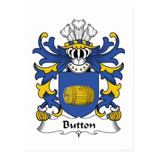 Button Family Crest Post Card